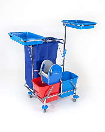 FSW 1 fahrstuhl carro 1 Solid Floor Star Lavado carro carrito de limpieza (Ascensor de