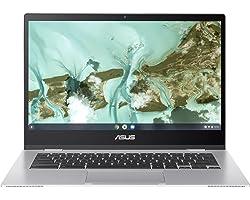 "ASUS Chromebook CX1, 14"" Full HD NanoEdge Display, Intel Celeron N3350 Processor, 64GB eMMC, 4GB RAM, Spill-Resistant Keyboar"