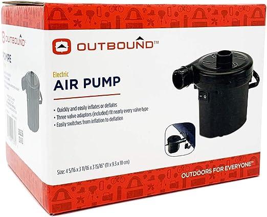 Amazon.com: Bomba de aire eléctrica Outbound para inflables ...