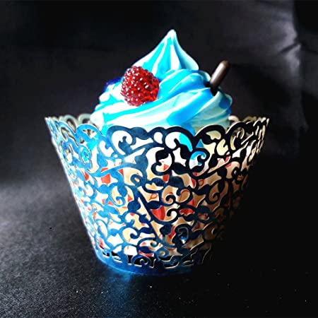 Punctual Rosenice Cupcake Liners Aluminum Foil Cups Cake Muffin Molds For Baking black Wide Selection;