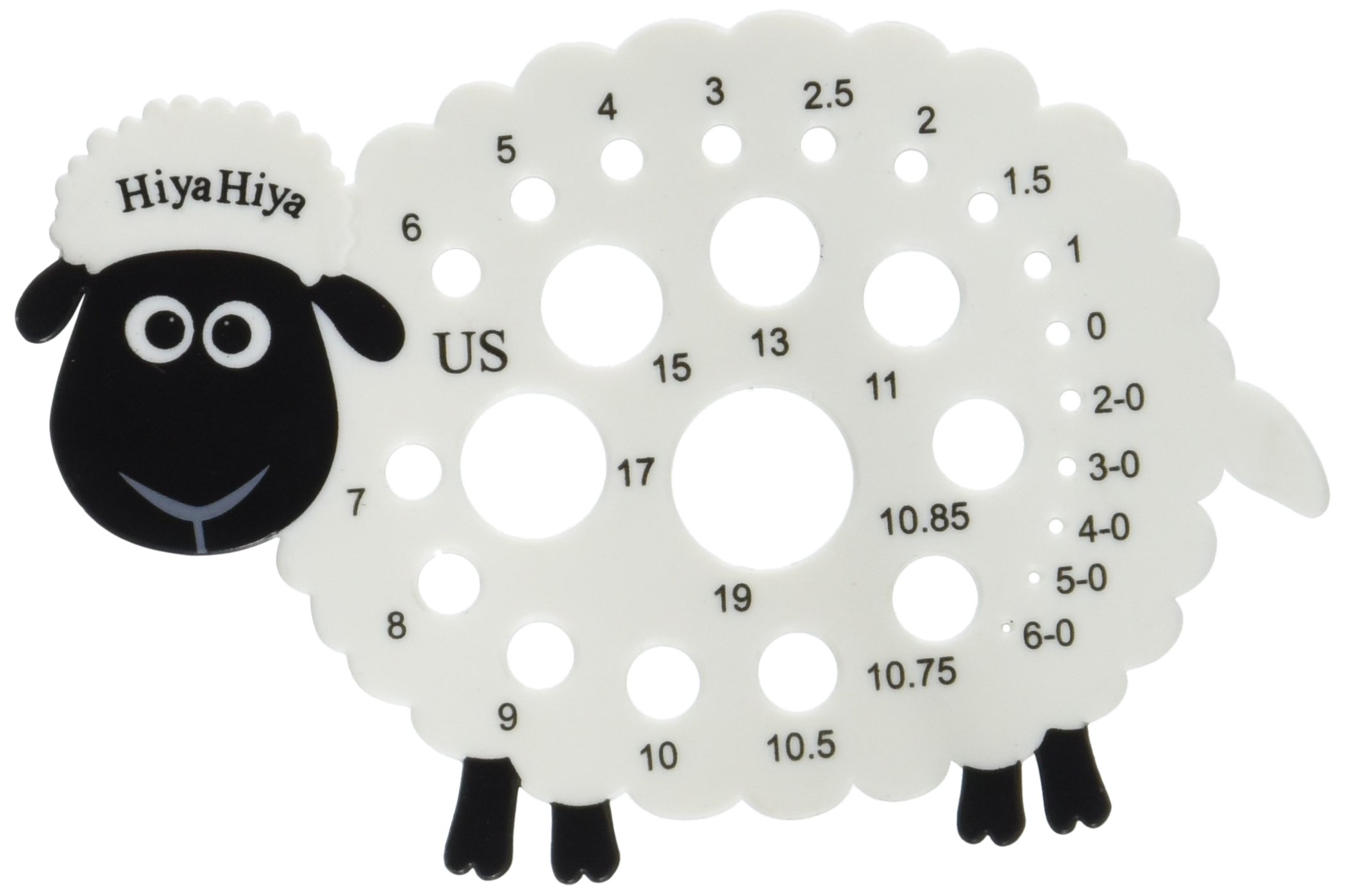 Hiyahiya - Aguja de tejer calibre de ovejas