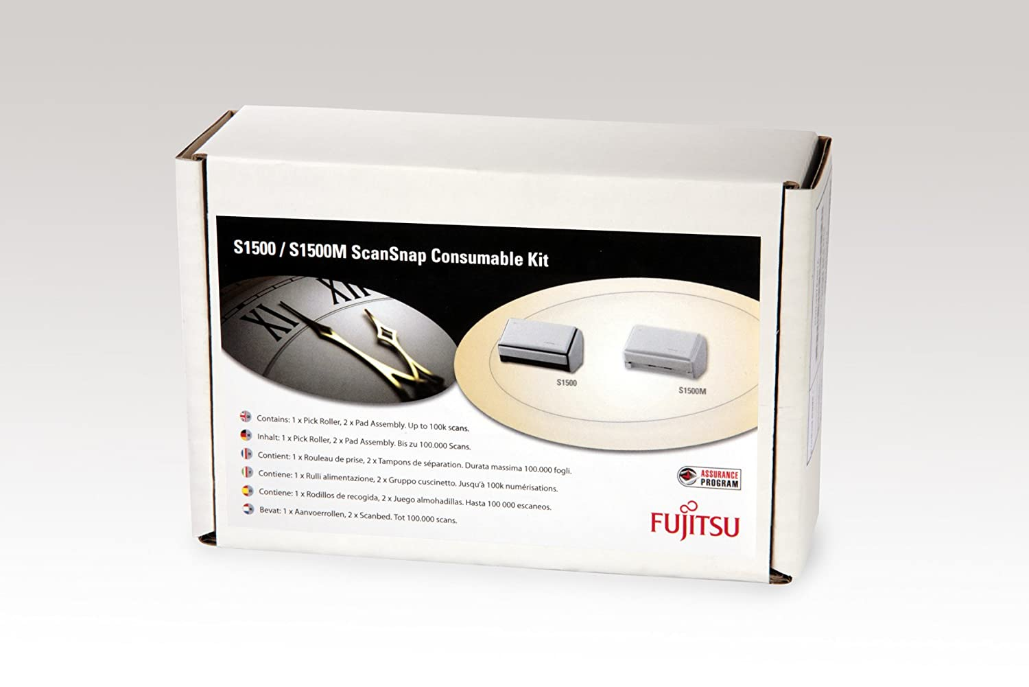 Fujitsu Consumable kit for ScanSnap fi-5110EOX, fi-5110EOX2 fi-5110EOXM, S500, S500M S510, S510M CON-3360-001A