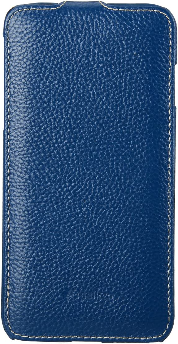 Melkco Premium Leather Case for Apple iPhone 6 Plus (5.5 Inch) - Jacka Type - Dark Blue (APIPL6LCJT1DBLC)