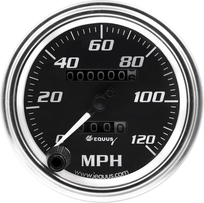 Black Dial Equus 7072 Speedometer