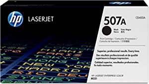 HP 507A | CE400A | Toner Cartridge | Black, One Size