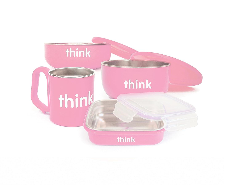 The Complete BPA Free Feeding Set Pink Vineyard Music 220102 - Pink /