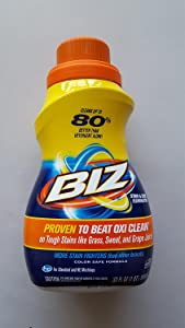 Biz Stain and Odor Eliminator 50 Ounce (2 pack)