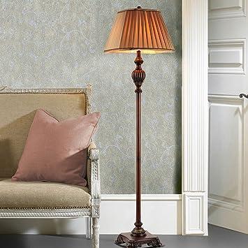 Lámparas de pie Salón Dormitorio Lujo Retro: Amazon.es: Hogar