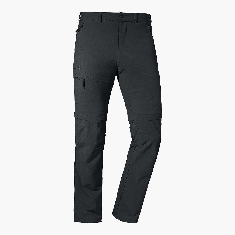 Sch/öffel Herren Pants Koper1 Flexible und Bequeme Hose mit Zip-Off Funktion schnell trocknende und k/ühlende Wanderhose aus 4-Wege-Stretch