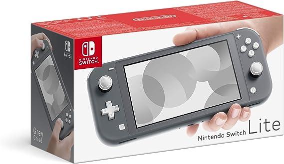 Nintendo Switch Lite - Grey [Importación inglesa]: Amazon.es: Videojuegos