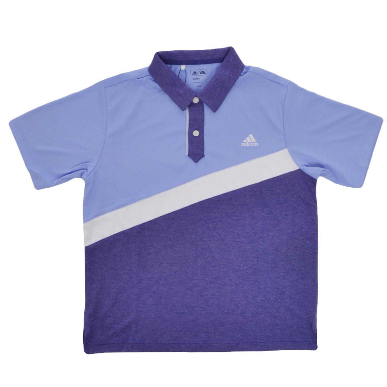 adidas Rendimiento niños Golf Polo - 12Y, Color Blue,Purple ...