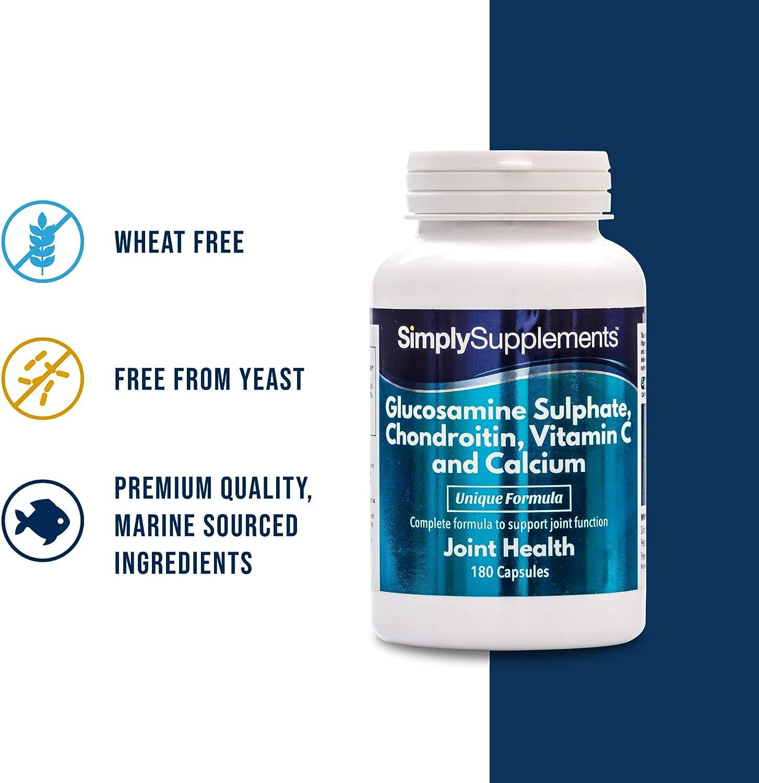 glucosamina condroitină vitamina c)