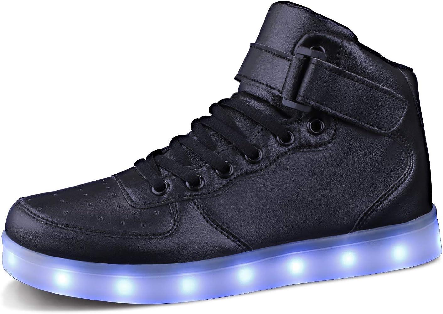 MILEADER Kids LED Light Up Shoes Boys