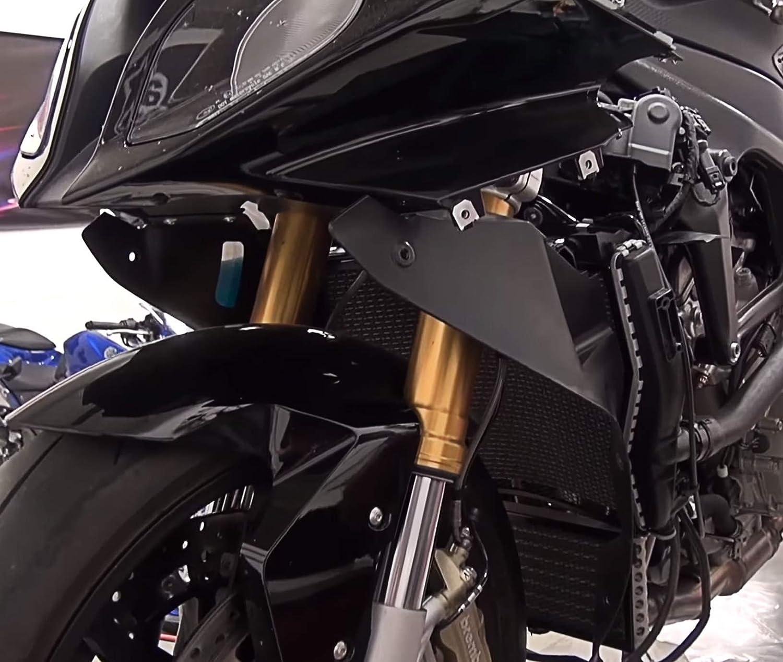 Gold Motorrad CNC Aluminium Motor Abdeckung f/ür S1000R 2014 2015 S1000RR 2009-2016 S1000XR 2015 2016 K/ühlerabdeckung 10/% Rabatt B/ündelverkauf