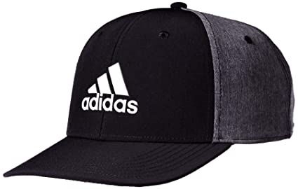 b17f51d7 Buy adidas Golf Men's A-Stretch Heather Tour Hat, Black, One Size ...