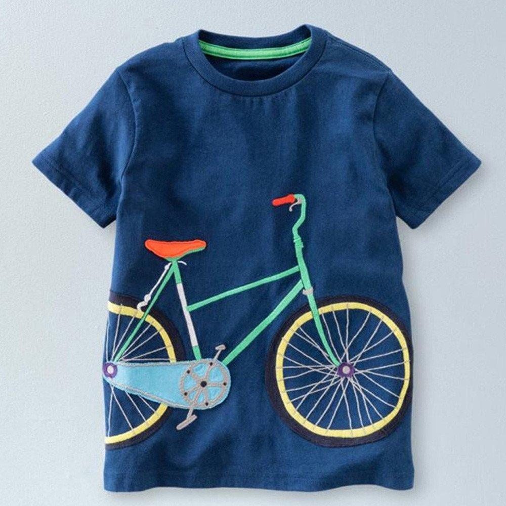 Amazon.com: YKARITIANNA Toddler Kids Baby Boys Girls Clothes Short Sleeve Cartoon Tops T-Shirt Blous: Arts, Crafts & Sewing