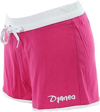 Pantalón corto de deporte para mujer Short algodon Rio Djaneo rosa ...