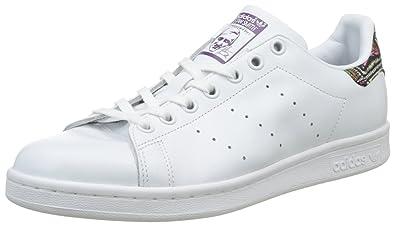 acheter pas cher 4ae42 0f305 adidas Stan Smith, Baskets Basses Femme, Blanc Footwear ...