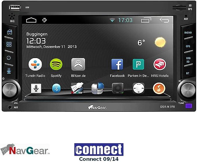 NavGear de 2 din Android de DSR Radio de coche N 370 – GPS, WIFI, BT2, Ela de enlace: Amazon.es: Electrónica