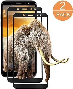 2 paquetes] Protector de Pantalla Samsung Galaxy A6 2018, AETOILE ...