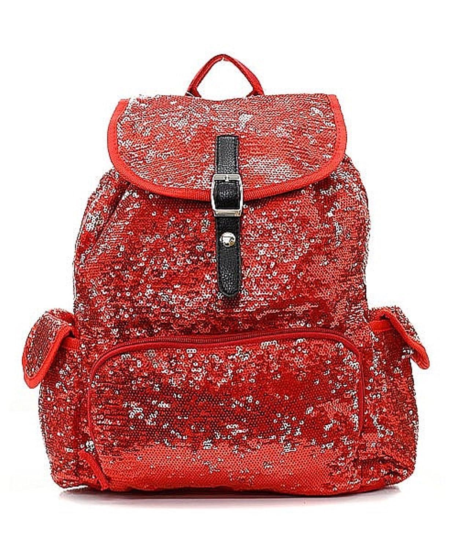 Sequin Glittering Backpack Fashion Designer Inspired Handbag