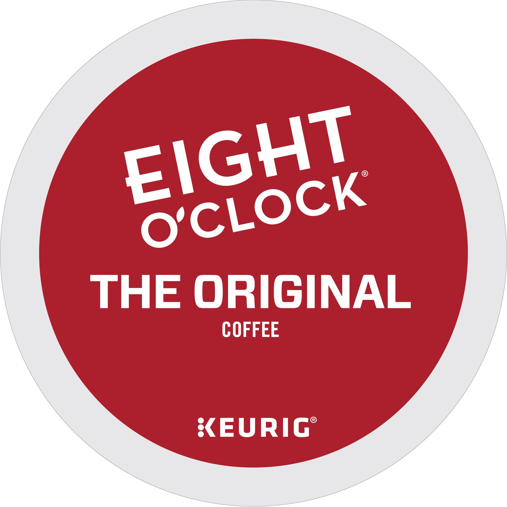 Eight O'Clock Coffee The Original, Single Serve Coffee K-Cup Pod, Medium Roast, 72
