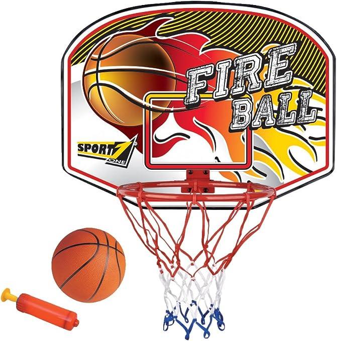 Sport One Tablón de Baloncesto Fireball: Amazon.es: Deportes y ...
