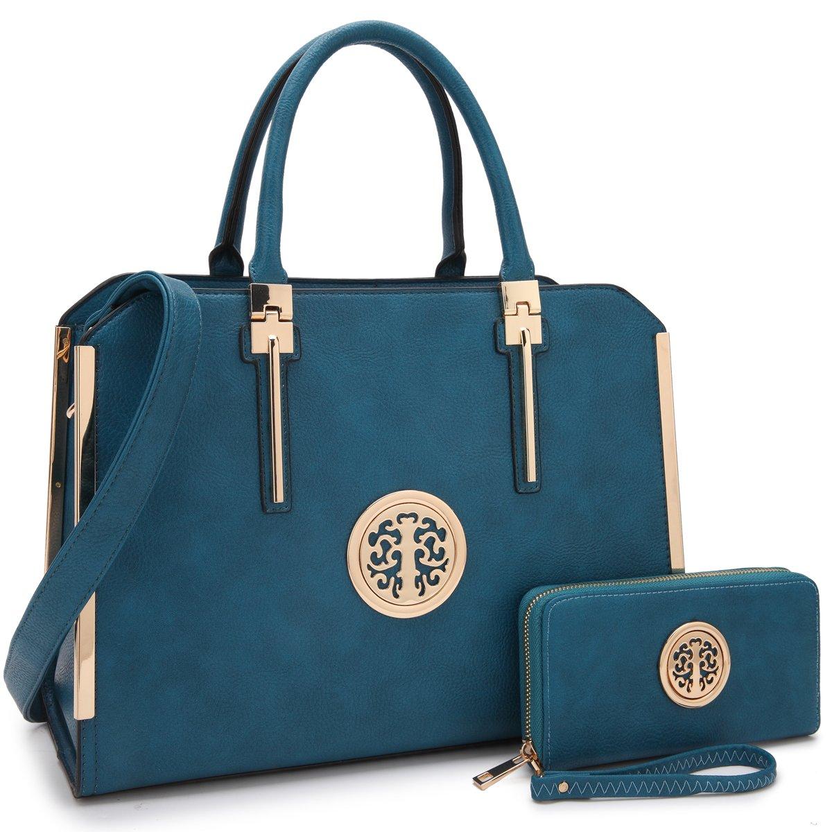 Dasein Handbags for Women Tote Purse Shoulder Bag Top Handle Satchel for Ladies
