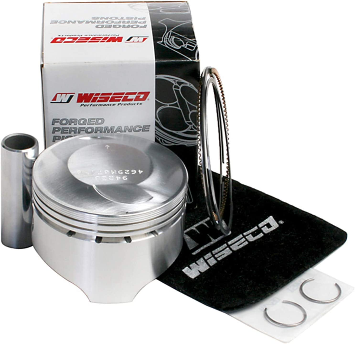 Piston Kit 2.00mm Oversize to 76.00mm For 1999 Honda TRX300FW FourTrax 4x4 ATVs