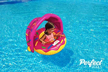 Perfect Pools Flotador Inflable Para Piscina Para Bebés - Anillo ...