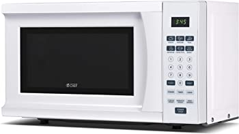 Commercial Chef CHM770W 0.7 Cubic Feet Compact Microwave