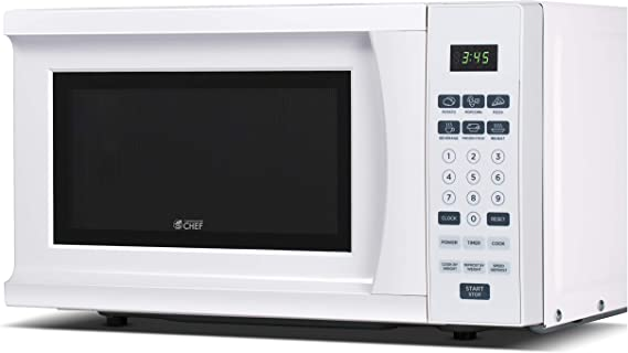 Commercial Chef CHM770W 700 Watt Counter Top Microwave Oven