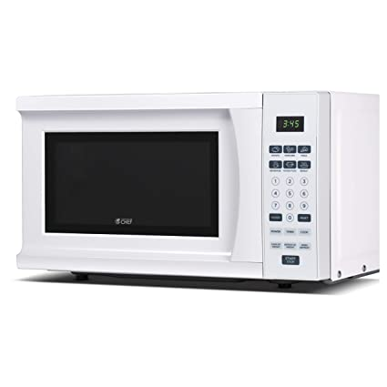 Amazon Com Commercial Chef Chm770w 700 Watt Counter Top Microwave