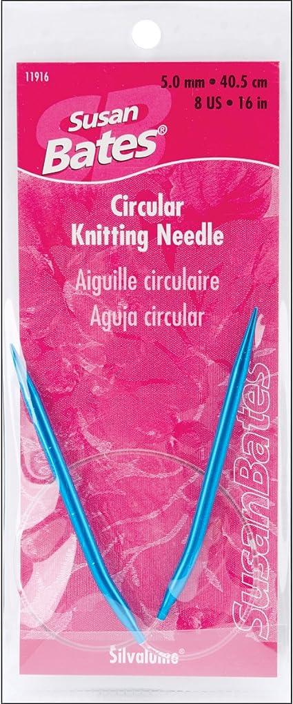 "16/"" 12 sz Bamboo Circular Knitting Needles us 0-10.5"