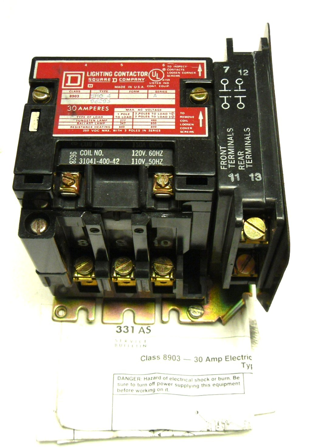 square d lighting contactor wiring new square d 8903sm04 lighting contactor series a 30 amp 8903 sm04  30 amp 8903 sm04