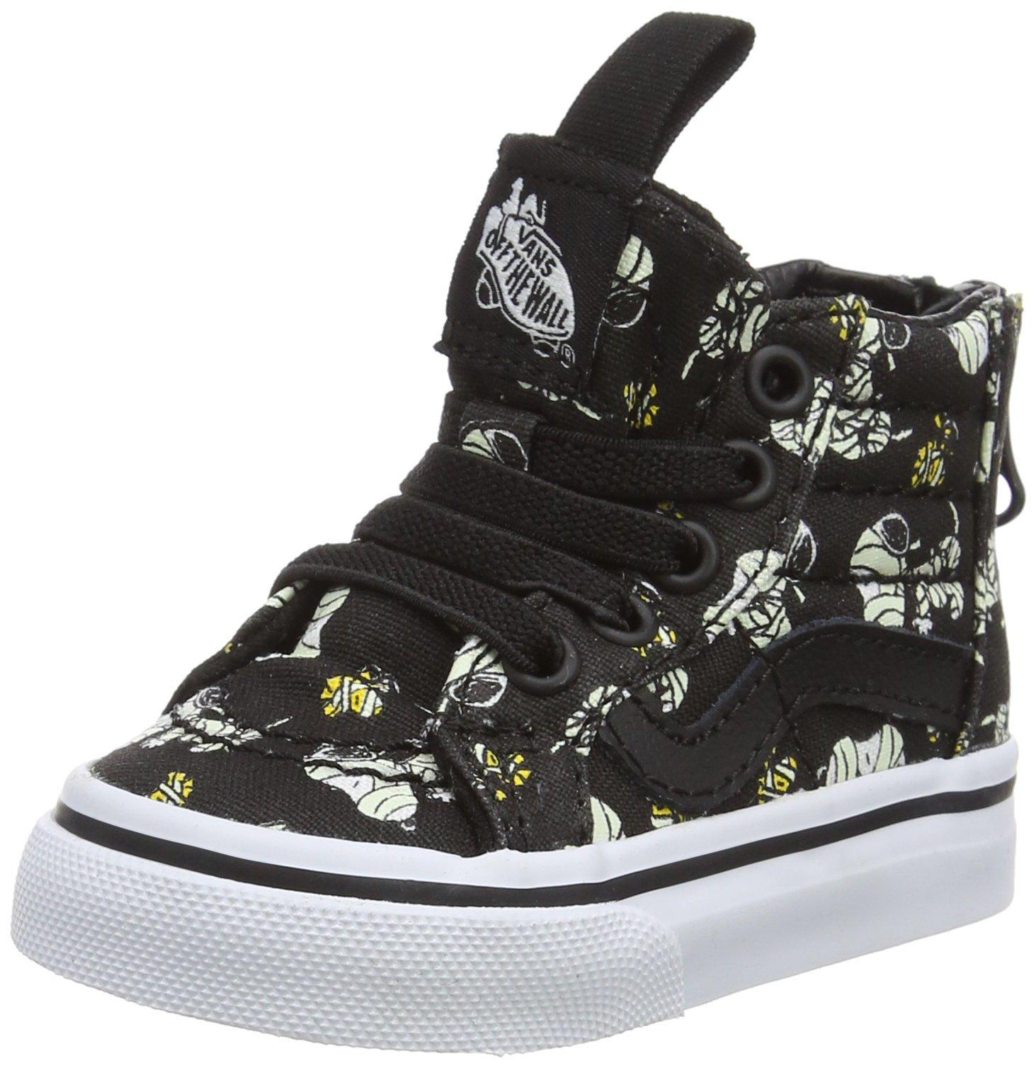 428f182d8be88 Galleon - Vans X Peanuts SK8 Hi Zip Glow In The Dark Mummies Toddlers  Sneakers (7.5 M US Toddler)