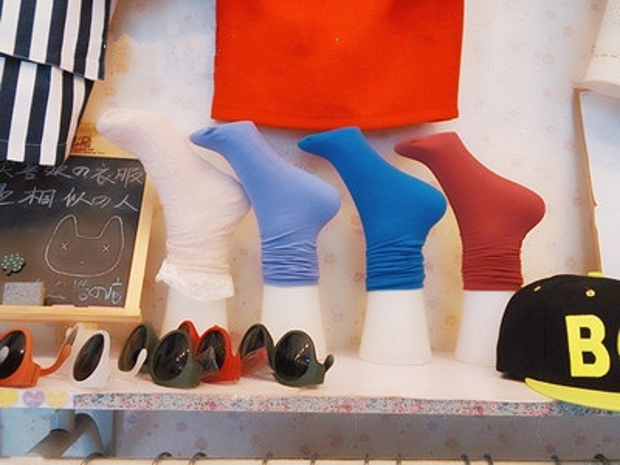 CHENGYIDA 5 Piece 12.6inch Female Mannequin Foot Sock Display Sock mannequin Display Foot Female Mannequin Foot