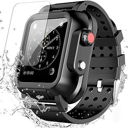 Amazon.com: Spidercase - Funda impermeable para Apple Watch ...