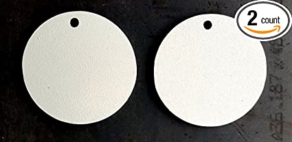"""AR500 3//8/"""" STEEL GONG TARGET 10/"""" and 8/"""" Round Targets 12/"""""""