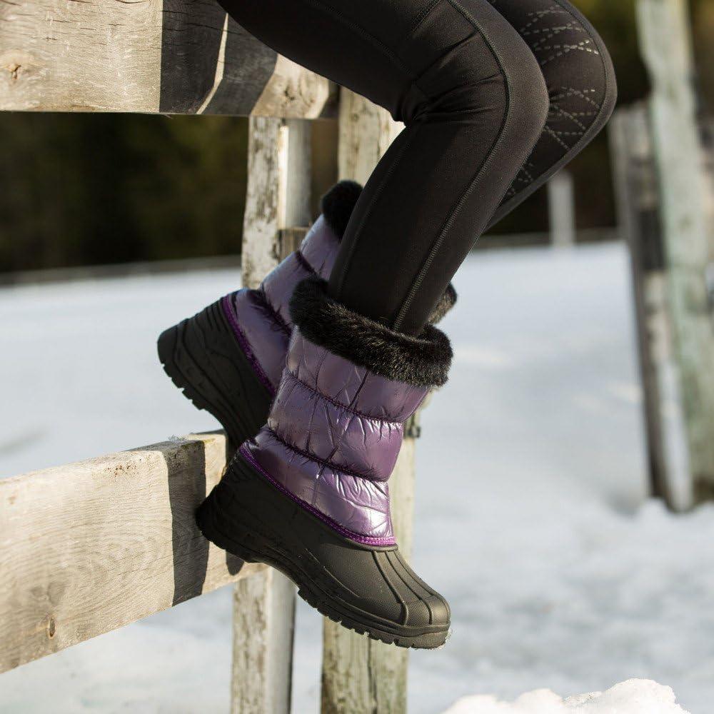 Horze Sedona Women's Snow Boots Purple