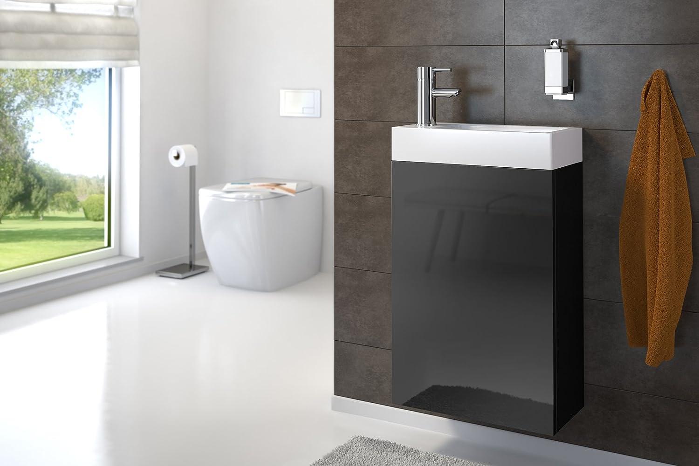 Sam Kleiner Badezimmer Waschplatz Badmobel In Holzoptik
