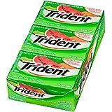 Trident Sugar Free Watermelon Twist Chewing Gum Superpak, 12 Pack (14 Pieces Each)