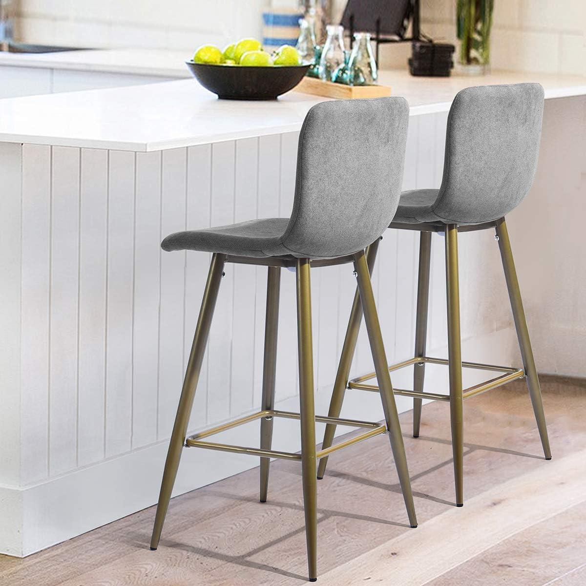 grey fabric breakfast bar stools> OFF 9