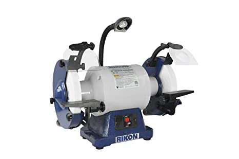 Astonishing Rikon Power Tools 80 808 8 1 Hp Low Speed 1725 Rpm Bench Grinder Bralicious Painted Fabric Chair Ideas Braliciousco