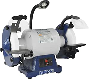 Rikon Power Tools 80 808 8 Inch 1 Hp Bench Grinder Low