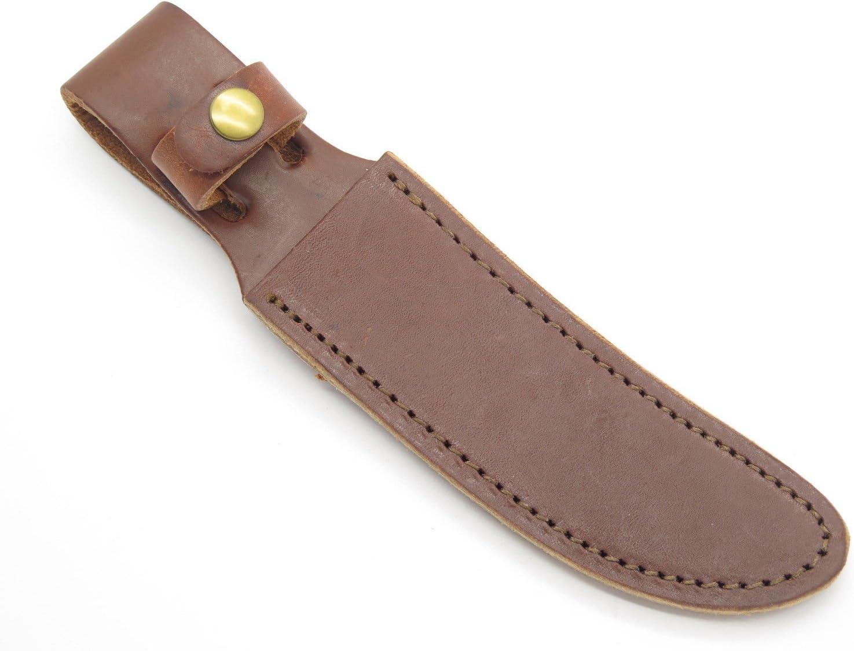 Schrade 153 160 165OT Woodsman Fixed Blade Leather Hunting Knife Sheath Vintage