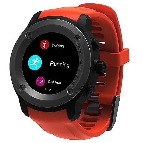 Hombre Mujer Reloj con GPS de Deportivo con Pulsómetro y Notificaciones Inteligentes,Weather Specifications,