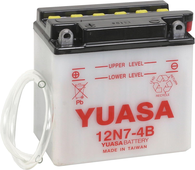 YUASA Replacement Motorcycle Battery Bolts 12N7-4B Yamaha