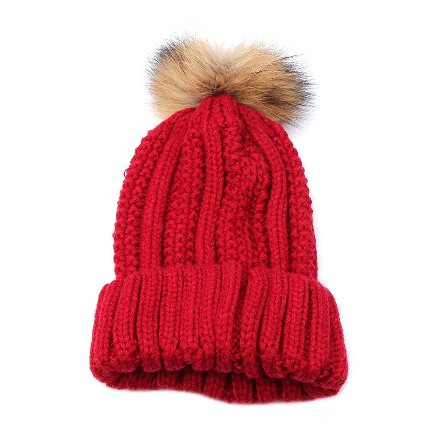 Kintted Hat For Women, Dacawin(TM) Women Knitted Wool Hat