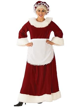 d53f9fdad0a Rubie's Costume Co - Womens Curvy Premium Traditional Mrs. Claus Costume